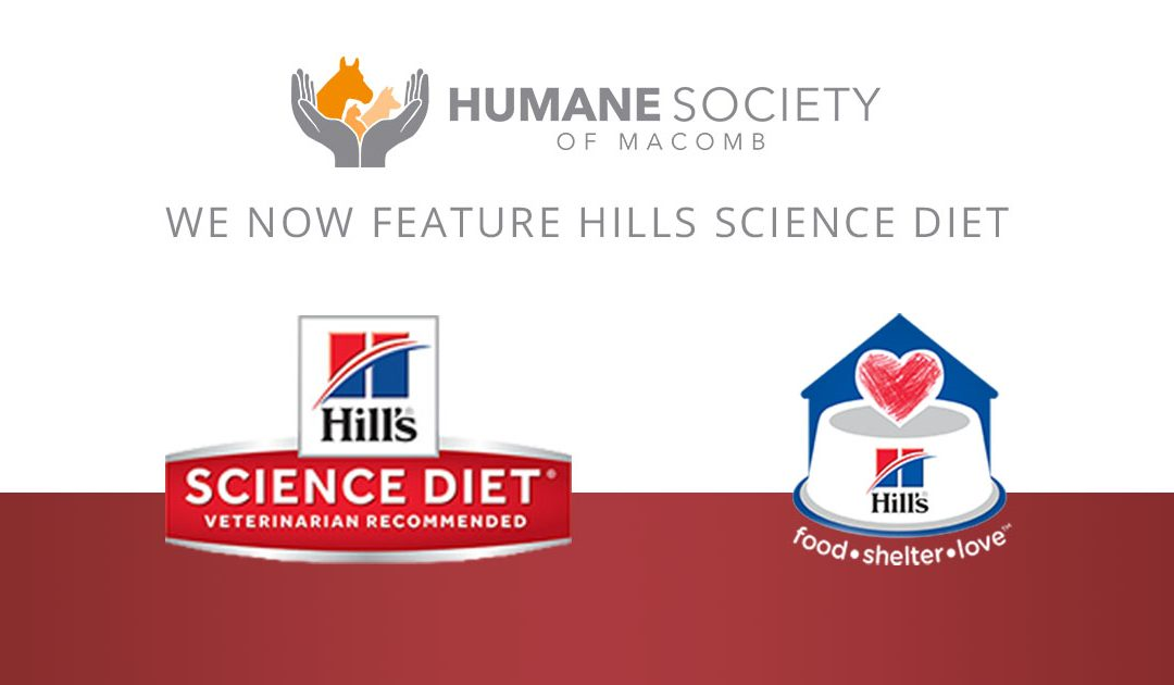 """Hill's Food, Shelter & Love"" Partnership Will Provide Consistent Diet for Animals"