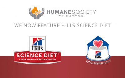 """""""Hill's Food, Shelter & Love"""" Partnership Will Provide Consistent Diet for Animals"""