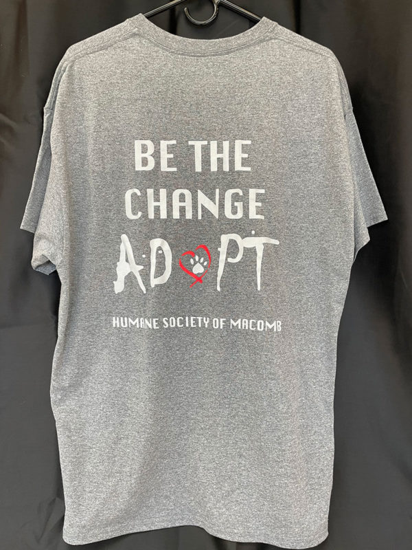 Be the Change- Adopt T-shirt
